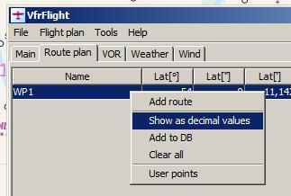 flight route plan